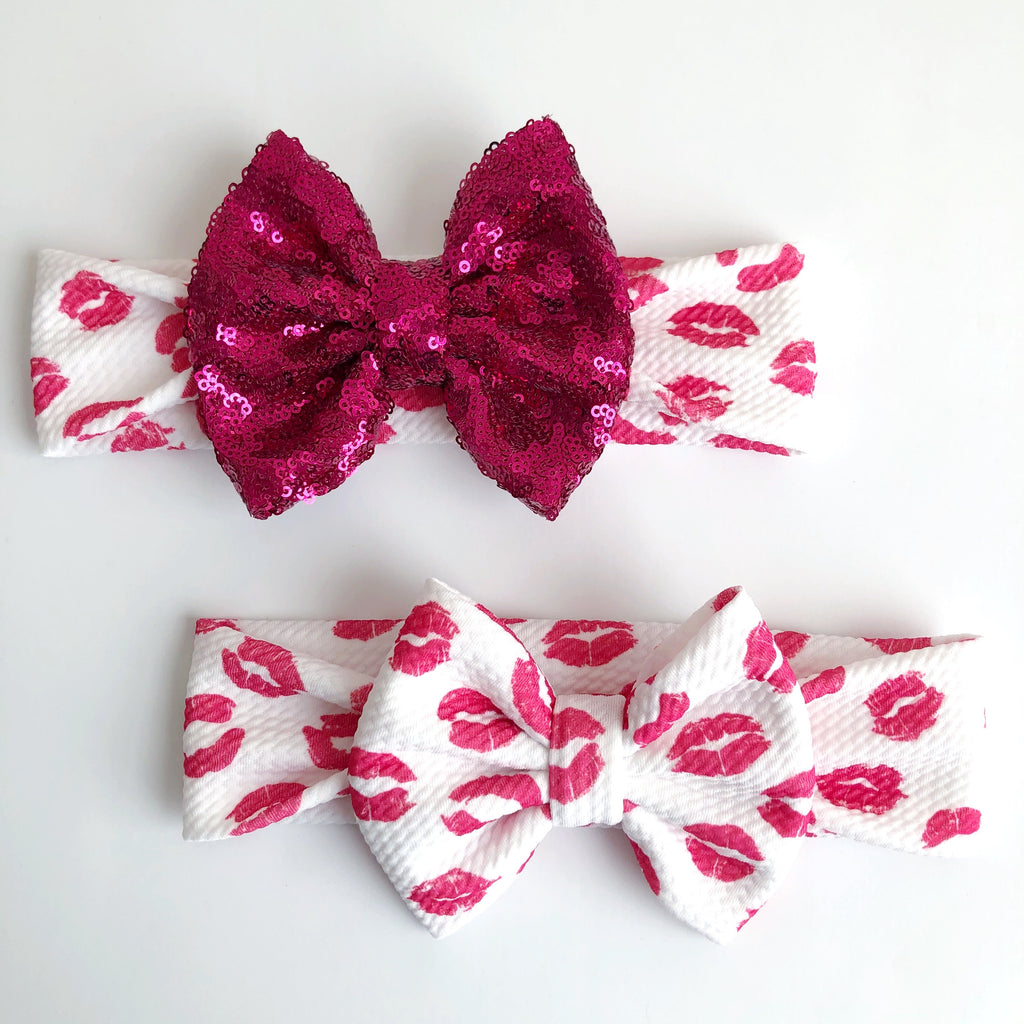 Kiss Kiss Headbands