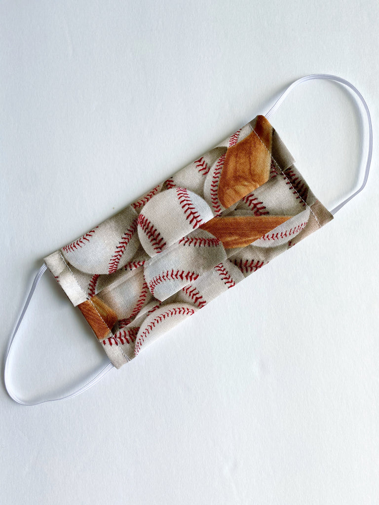 Baseball face mask