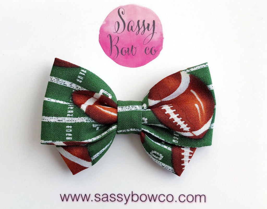 Football Madi Cotton Bow