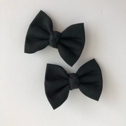 "Black 2"" pigtail set"