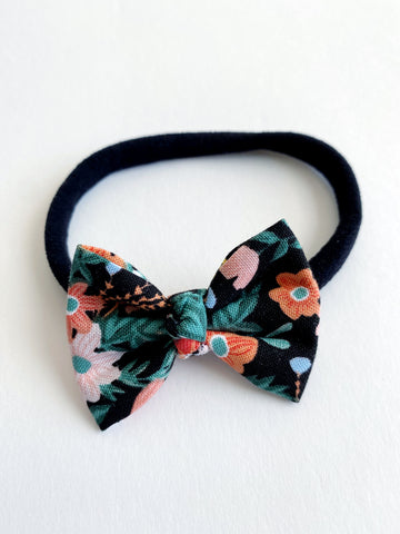 "Tropical Floral 2"" Chloe bow"