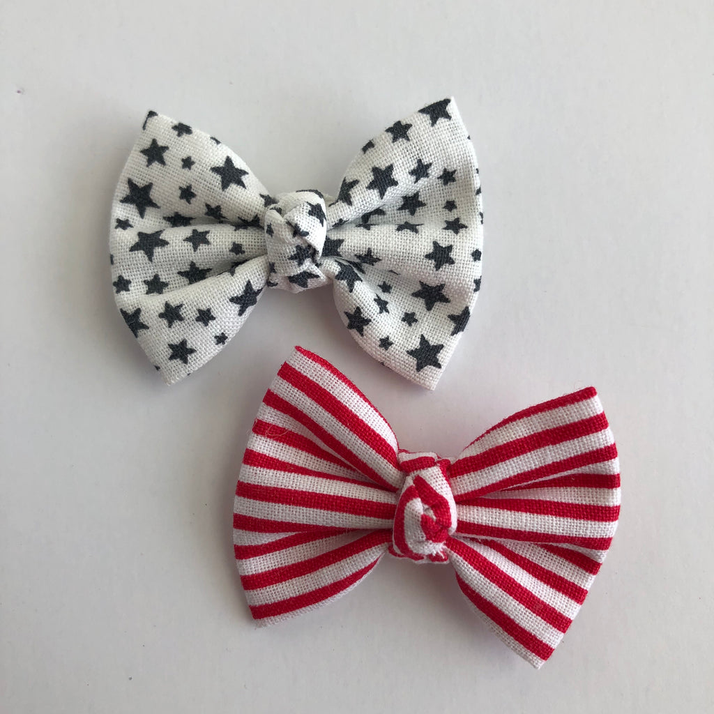 "Stars & Stripes 2"" pigtail set"