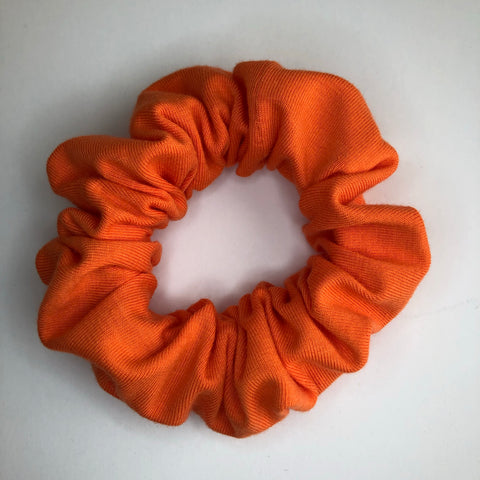 Classic Orange Scrunchie