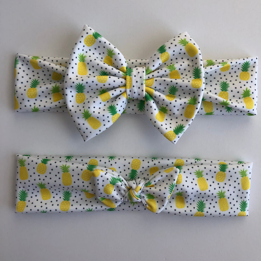 Pineapple Dots Headbands