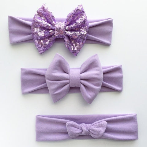 Lavender Headbands