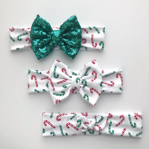 Candy Cane Headbands