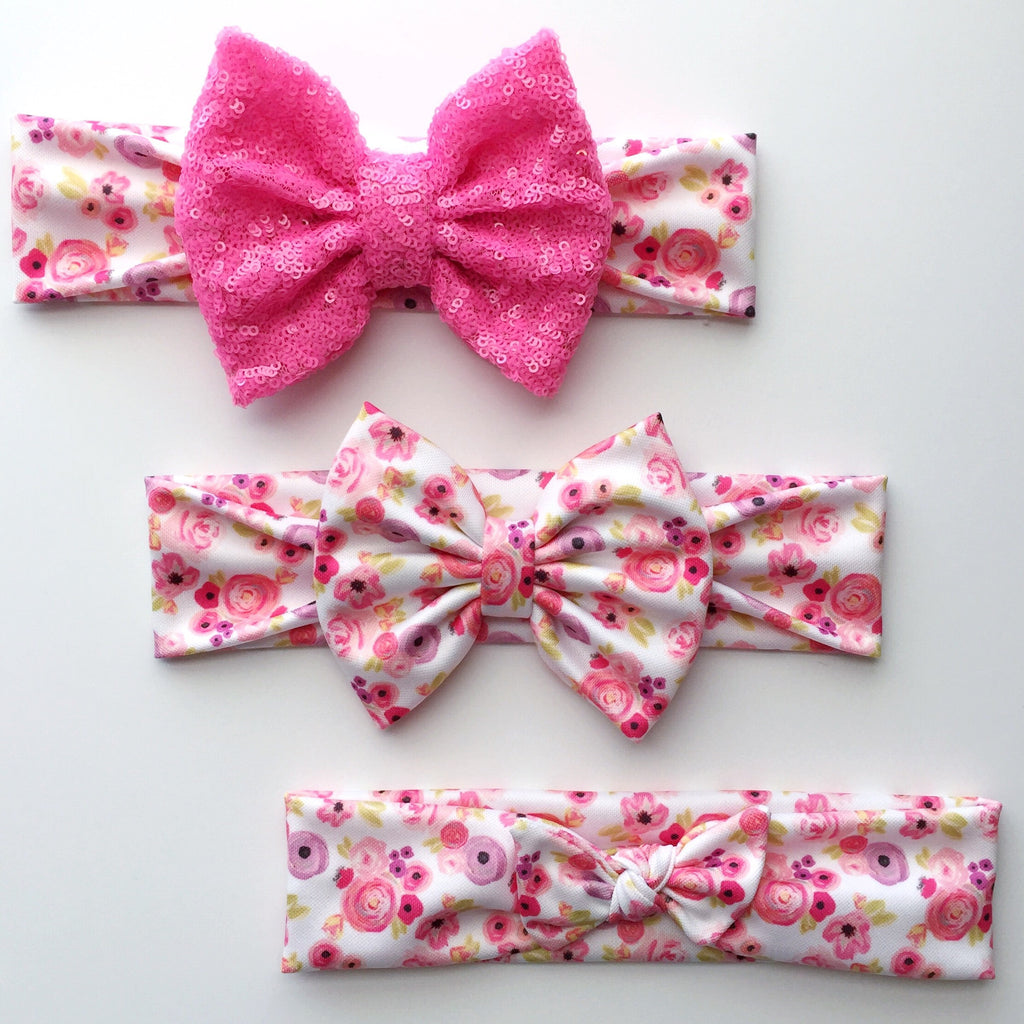 Sweetheart Floral Headbands