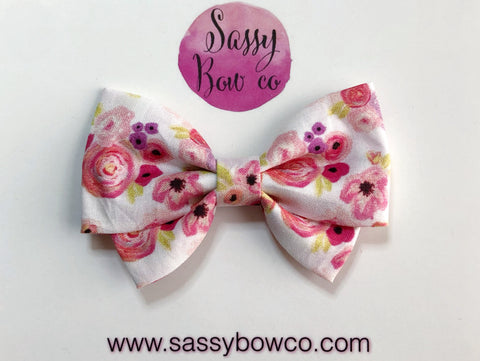 Love Floral Madi Cotton Bow