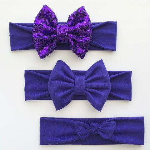 Amethyst Purple Headbands