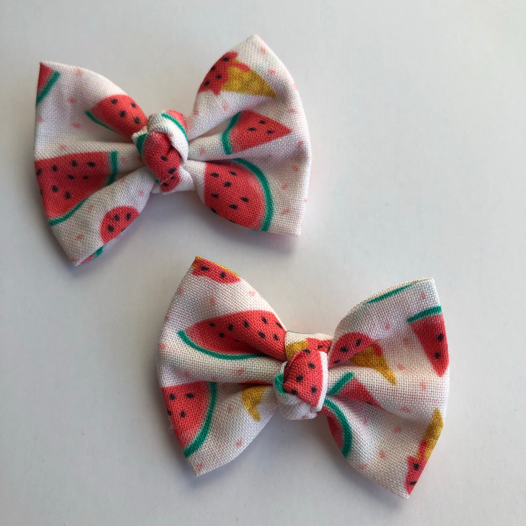 "Watermelon ice cream 2"" pigtail set"