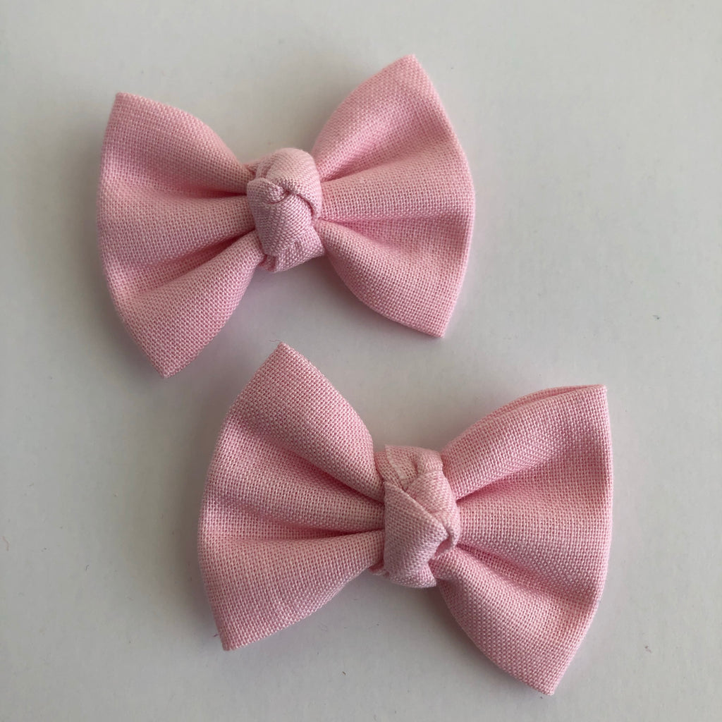 "Baby Pink 2"" pigtail set"