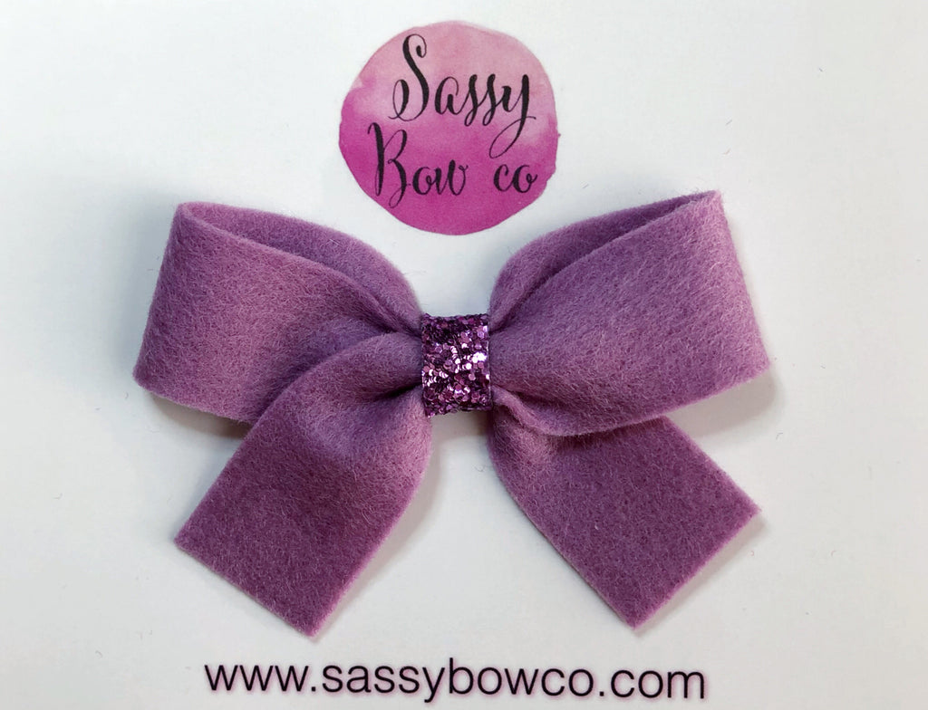 Mauve Anniston Bow