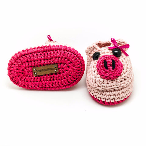 Piggy - Unique Baby Shoes for Little Girls! Prettybloom®