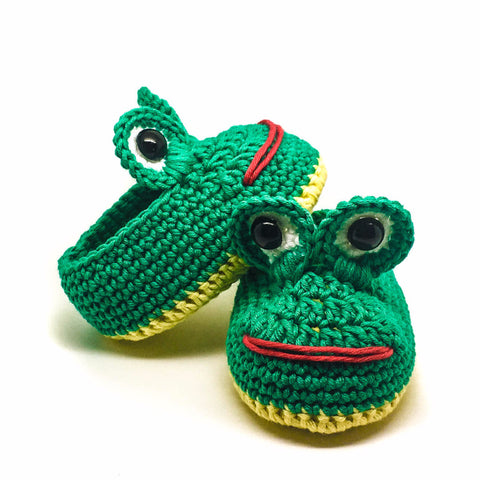 Frog - Unique Baby Shoes for Little Boys and Girls! Prettybloom®