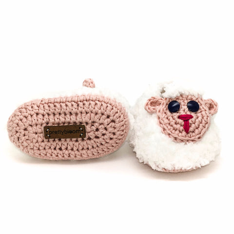 Sheep - Unique Baby Shoes for Little Girls! Prettybloom®