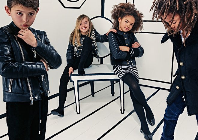 Olivier Rousteing Sounds Off on His New Balmain Kids' Collection