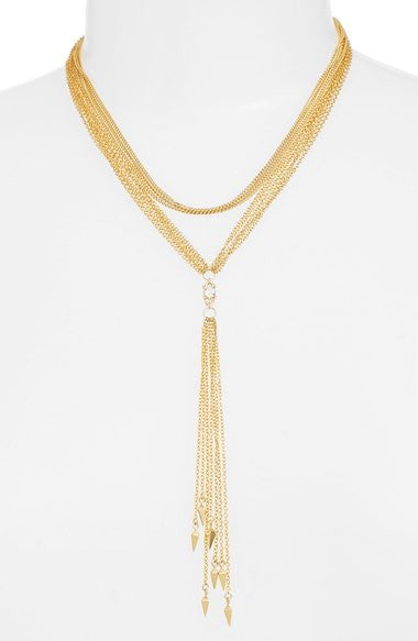 Multi Chain Y-Necklace for $0.42 at Posh Girl