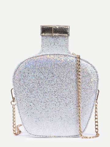Tequila Nights Silver Clutch Bag for $0.78 at Posh Girl
