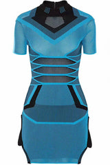 Tandy Too Blue Bandage Mini Dress for $1.98 at Posh Girl