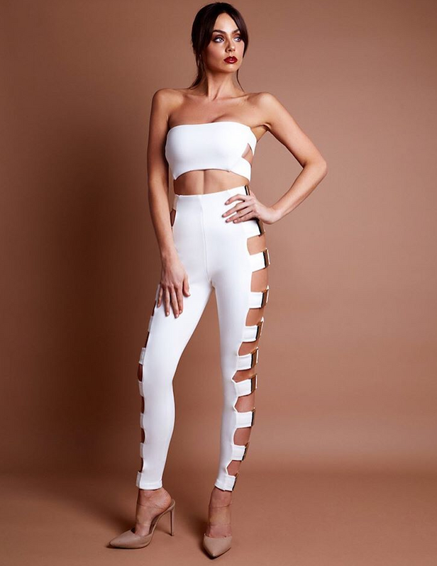 Can't Touch This Bandage Pant Set for $1.78 at Posh Girl