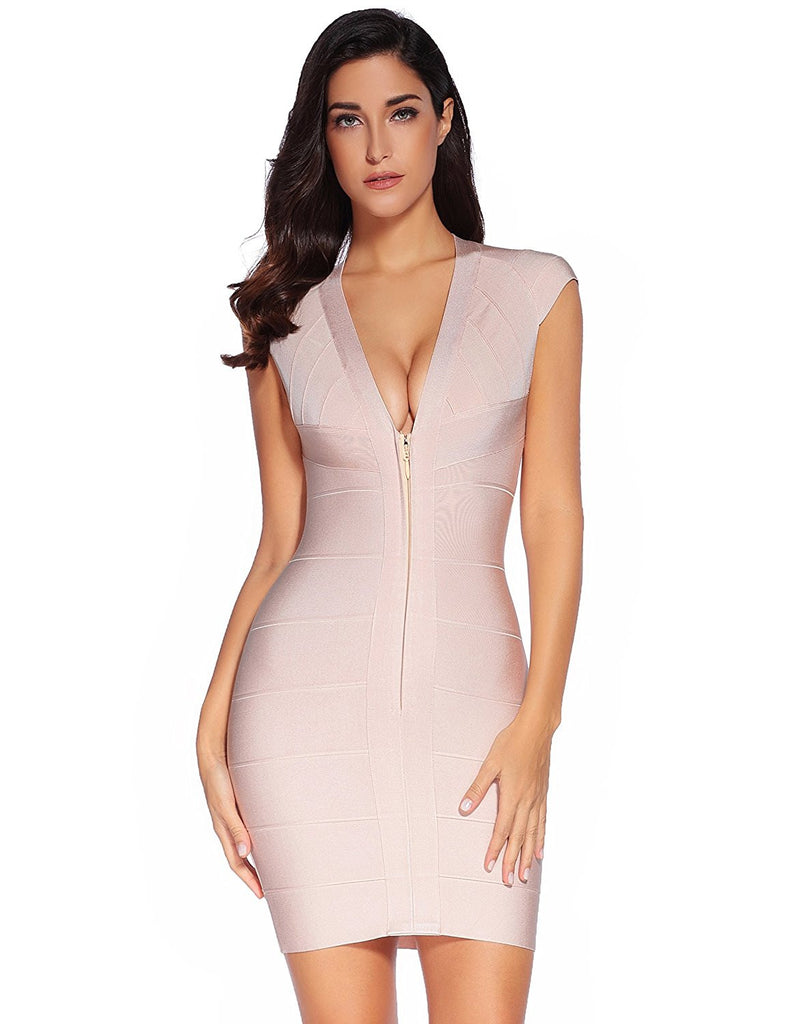 Valentina Open Back Mini Bandage Dress for $1.68 at Posh Girl