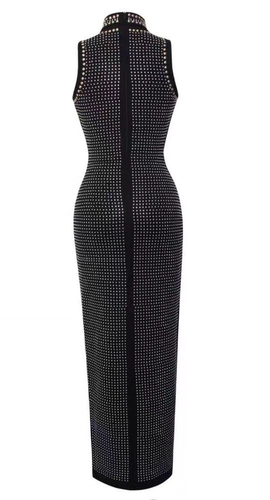 New York Babe Beaded Bandage Maxi Dress for $2.28 at Posh Girl