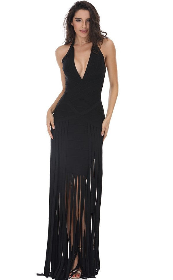 Misty Halter Maxi Dress for $2.38 at Posh Girl