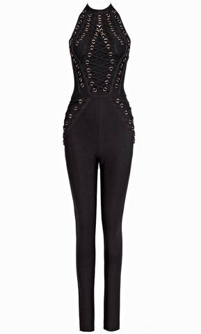 Dare To Be Hot Bandage Jumpsuit for $1.78 at Posh Girl