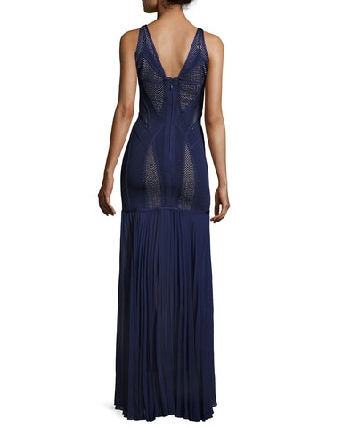 Midnight Blue Chiffon And Bandage Gown for $2.48 at Posh Girl