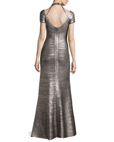 Lita Brushed Foil Print Bandage Gown for $2.38 at Posh Girl