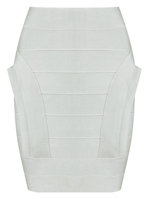 Apparel,Collections - Posh Girl Lotti Sculpted Bandage Skirt