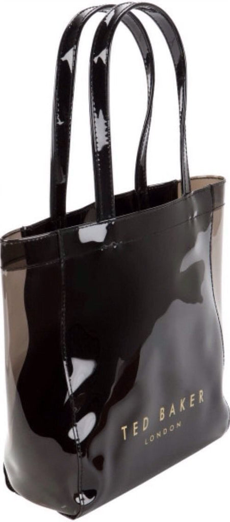 Bag,tote,accessories - TED BAKER London Bow Icon Small Shopper Bag Black