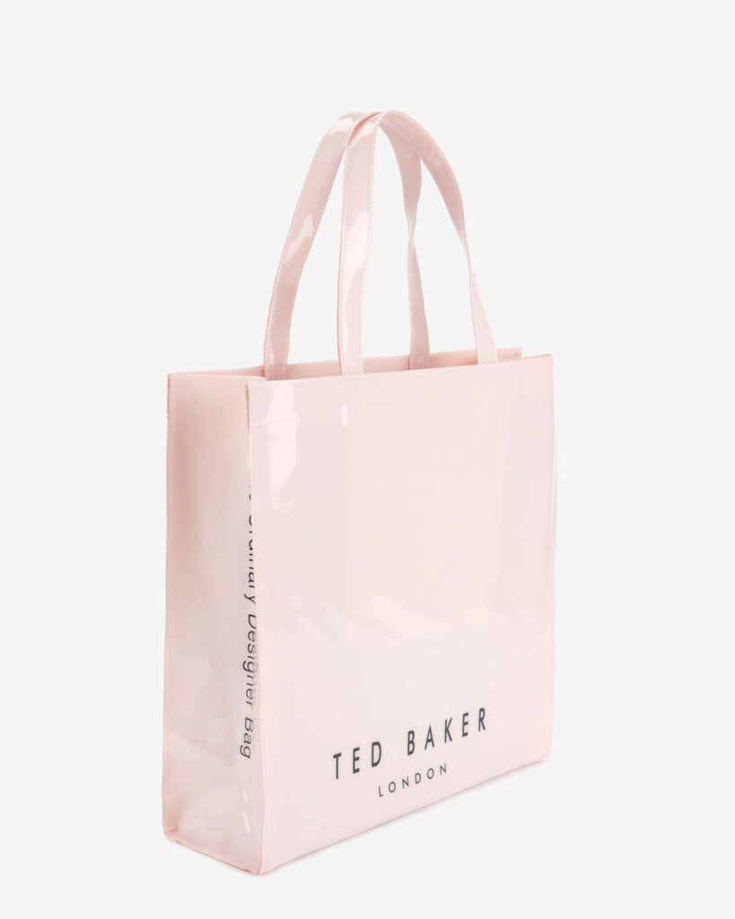 Brands,Accessories,Collections,TED BAKER - TED BAKER Large Pink Icon Bowicon Tote Bag