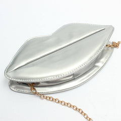 Gold Lip Clutch Bag for $0.58 at Posh Girl