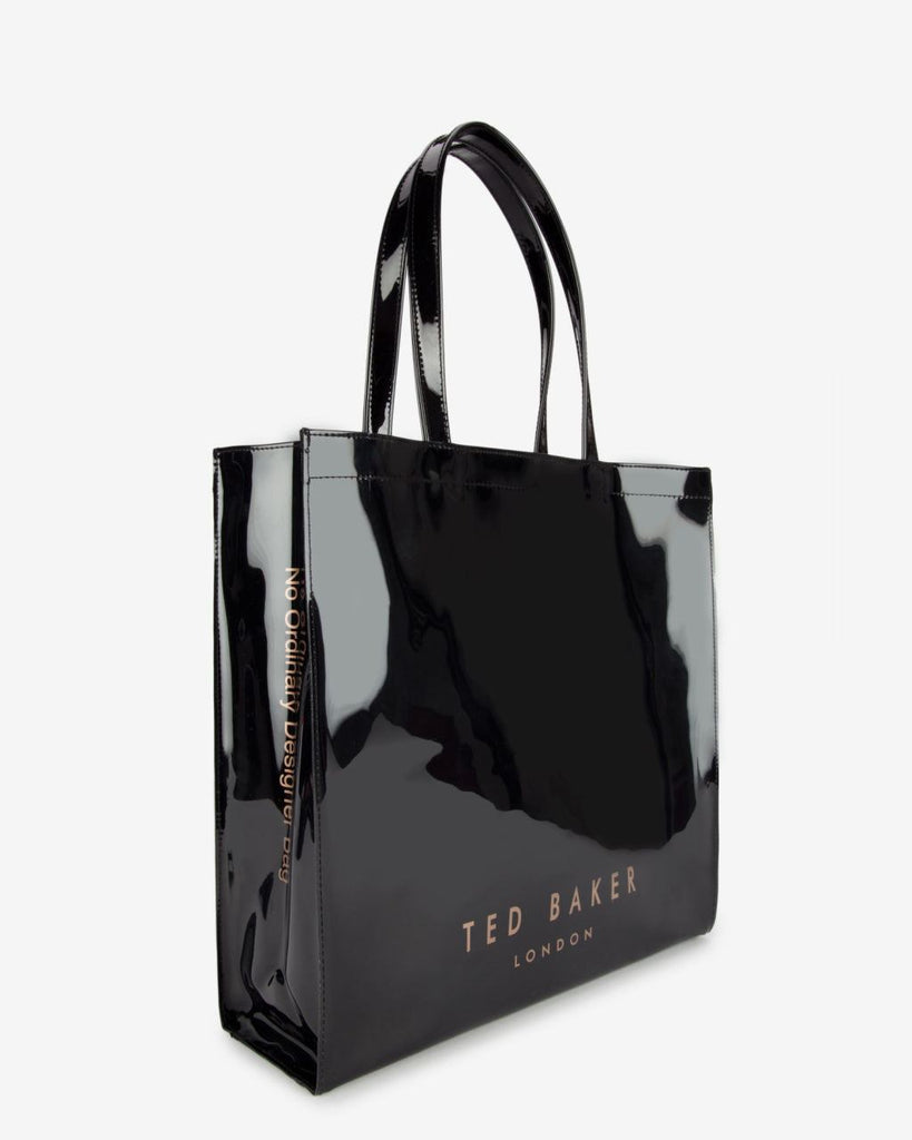Brands,Accessories - TED BAKER  Bowicoin Black Icon Tote Bag