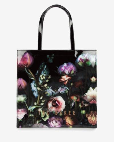 Brands,Accessories,TED BAKER - TED BAKER Icon Shocon Shadow Floral Tote Bag