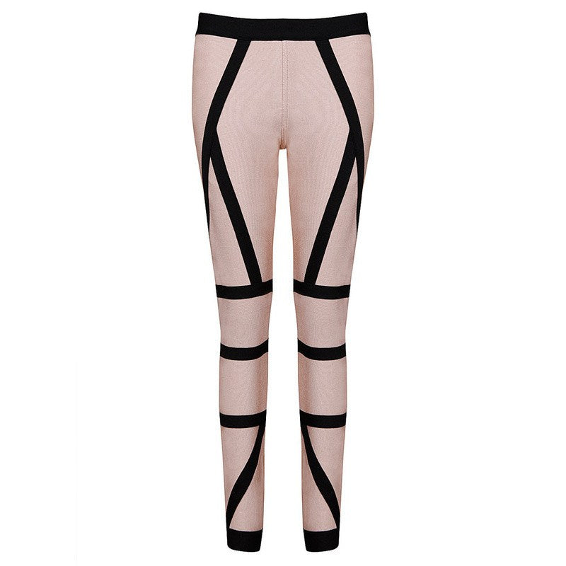 Brands,Apparel - Posh Girl Reanne  Two Tome Bandage Pants