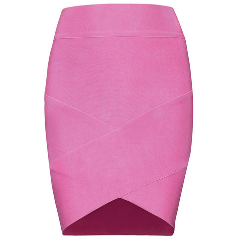 Brands,Apparel,Skirt, - Posh Girl Bright Blue Grace Bandage Skirt