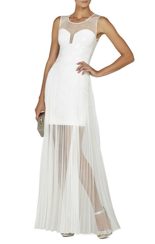 Brands - BCBG ALAI Gardenia Combo Sequin Dress
