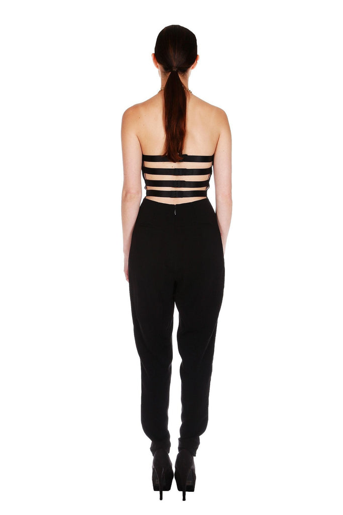 Black Chain Halter Jumpsuit for $1.68 at Posh Girl