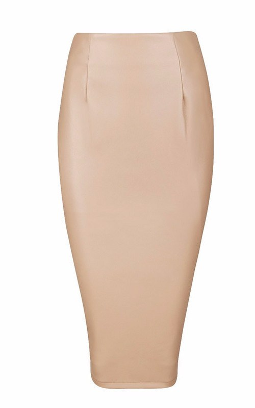 Posh Girl Candy Coated Vegan Leather Skirt for $1.18 at Posh Girl
