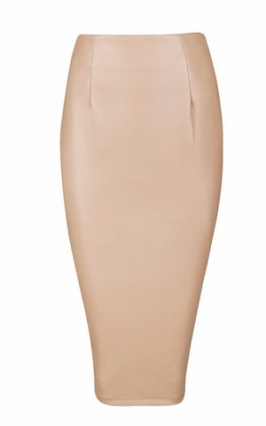 Brands,Collections,Apparel,Vegan Leather, - Posh Girl Candy Coated Vegan Leather Skirt