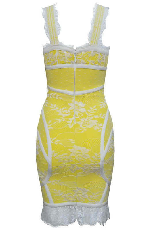 Posh Girl Sunshine Lace Bodycon Dress for $1.68 at Posh Girl