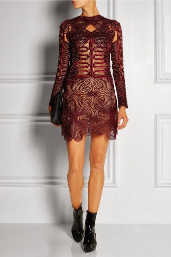 Brands,Dresses,Collections,Apparel - Posh Girl Rihanna  Embroidery Lace Dress