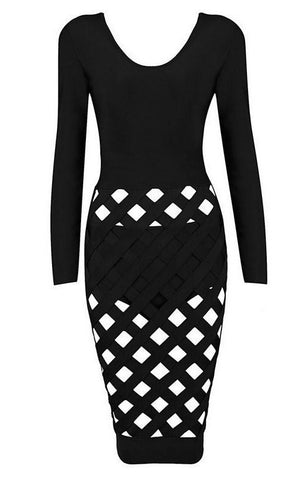 Brands,Dresses,New,Collections,Apparel - Posh Girl Her Sexy Cut Out Bandage Dress