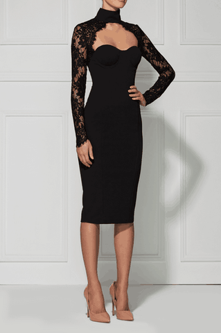 Brands,Dresses,New,Collections,Apparel - Posh Girl Roslyn Lace Bodycon Dress