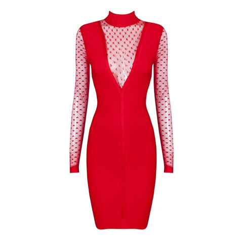 Brands,Dresses,New,Collections,Apparel - POSH GIRL Sweet Lady Bandage Dress