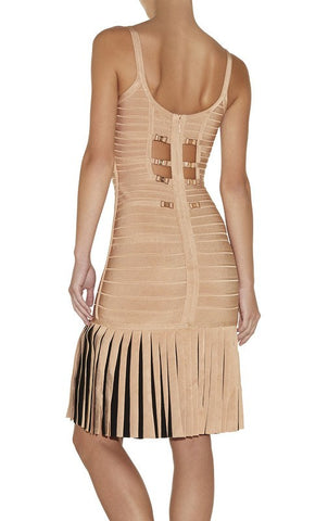Brands,Dresses,New,Collections - Posh Girl ADRIANA Fringe Bandage Dress