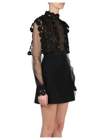 Amanda Lace Long Sleeve Mini Dress for $1.88 at Posh Girl