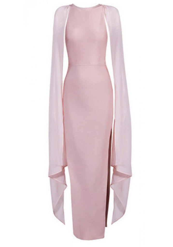 Brands,Dresses,New,Collections - Posh Girl Elvira Chiffon And Bandage Gown